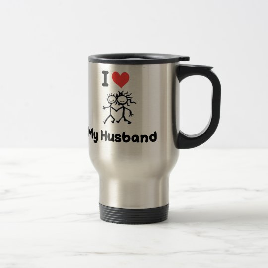 I LOVE MY HUSBAND TRAVEL MUG