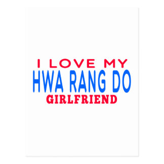 I Love My Hwa Rang Do Girlfriend Post Cards