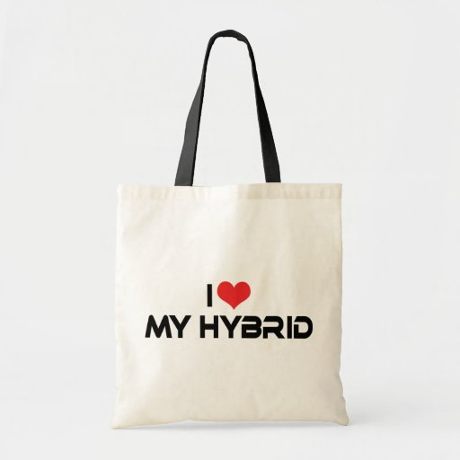 I Love My Hybrid Canvas Bags