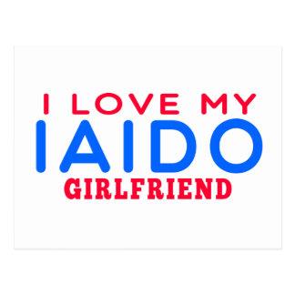 I Love My Iaido Girlfriend Post Card