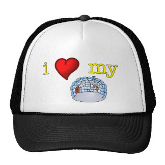 I love my igloo cap
