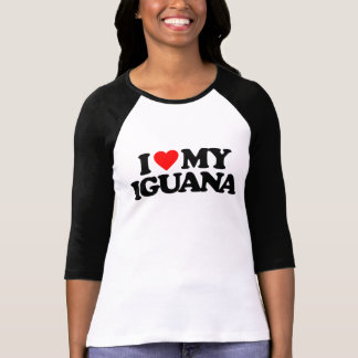 I LOVE MY IGUANA T-Shirt