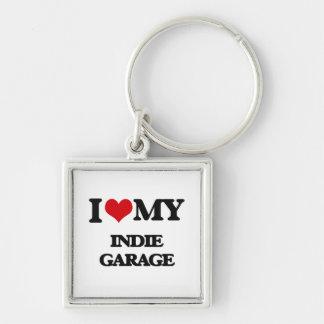 I Love My INDIE GARAGE Keychains