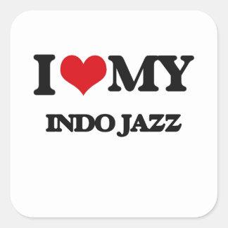 I Love My INDO JAZZ Stickers