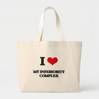 I Love My Inferiority Complex Tote Bag
