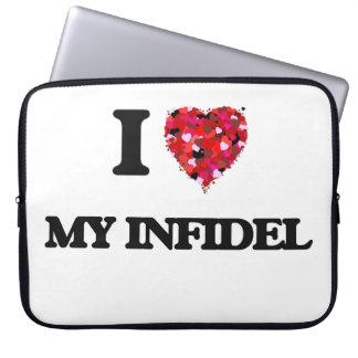 I Love My Infidel Computer Sleeves