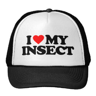 I LOVE MY INSECT CAP