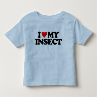 I LOVE MY INSECT SHIRT