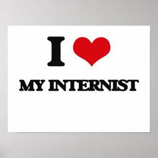 I Love My Internist Print