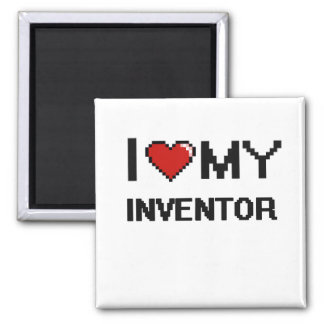I love my Inventor 2 Inch Square Magnet