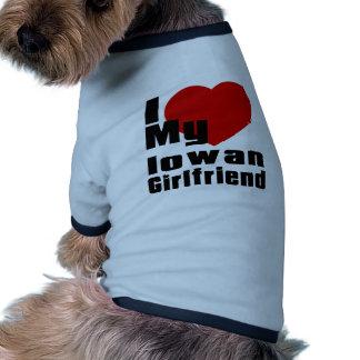 I Love My Iowan Girlfriend Ringer Dog Shirt