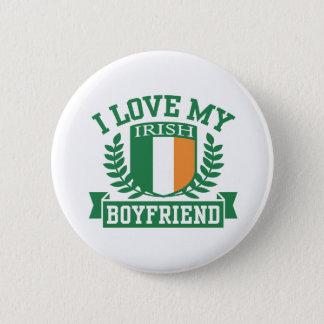 I Love My Irish Boyfriend 6 Cm Round Badge