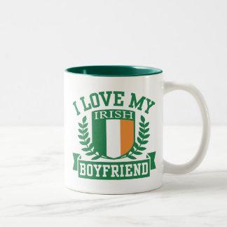 I Love My Irish Boyfriend Coffee Mugs