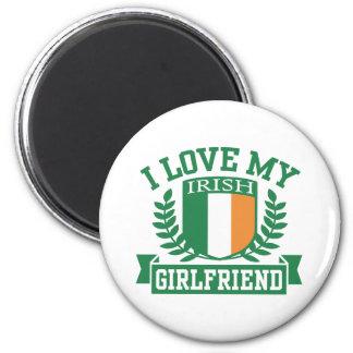 I Love My Irish Girlfriend Refrigerator Magnet