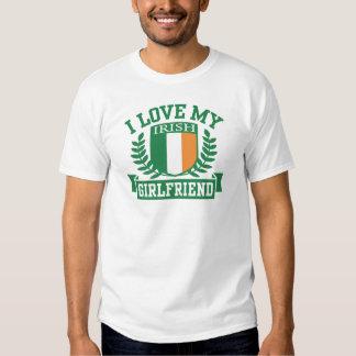I Love My Irish Girlfriend T Shirt