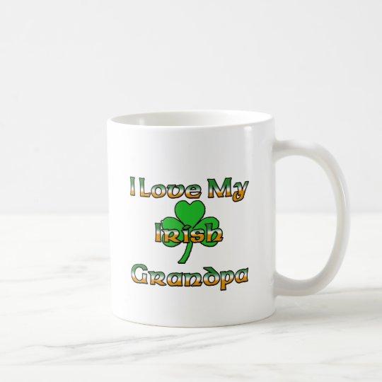 I Love My Irish Grandpa Coffee Mug