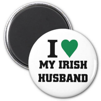 I love my Irish Husband Magnet