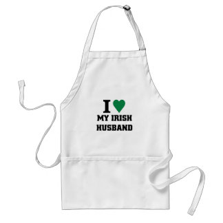 I love my Irish Husband Standard Apron