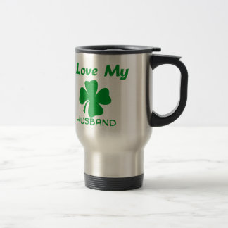 I Love My Irish Husband Travel Mug