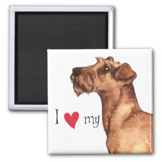 I Love my Irish Terrier Magnet