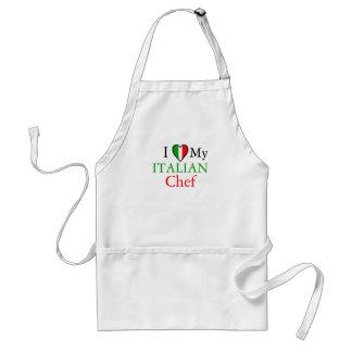 I Love My Italian Chef Standard Apron