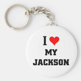 I love my Jackson Basic Round Button Key Ring