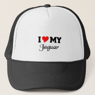 I love my Jaguar Trucker Hat