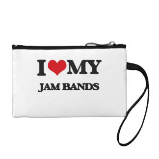 I Love My JAM BANDS Change Purse