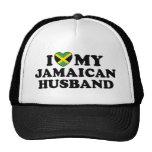 I Love My Jamaican Husband Cap