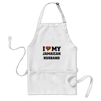 I love my Jamaican Husband Standard Apron