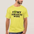 I Love My Jamaican Wife T-Shirt