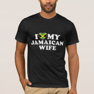 I Love My Jamaican Wife T-Shirt