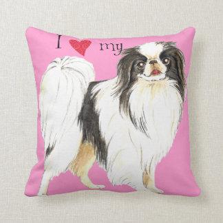 I Love my Japanese Chin Pillows