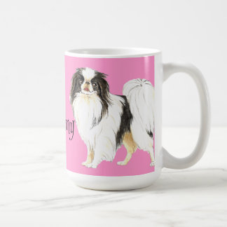 I Love my Japanese Chin Classic White Coffee Mug