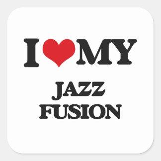 I Love My JAZZ FUSION Stickers