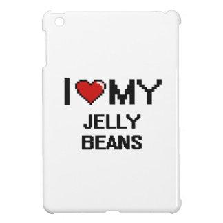 I Love My Jelly Beans Digital design Case For The iPad Mini