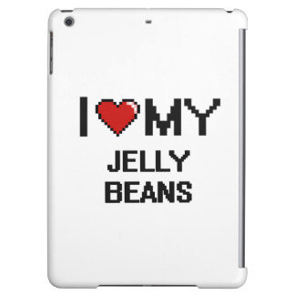 I Love My Jelly Beans Digital design
