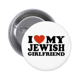 I Love My Jewish Girlfriend Pin