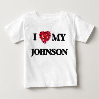 I Love MY Johnson T Shirt