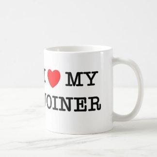 I Love My JOINER Basic White Mug