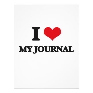 I Love My Journal Full Color Flyer