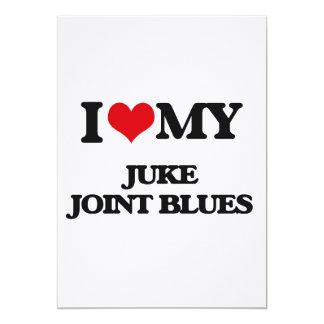 "I Love My JUKE JOINT BLUES 5"" X 7"" Invitation Card"