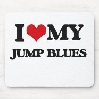 I Love My JUMP BLUES Mousepads