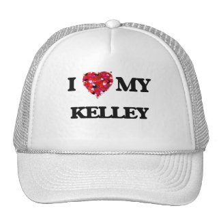 I Love MY Kelley Cap
