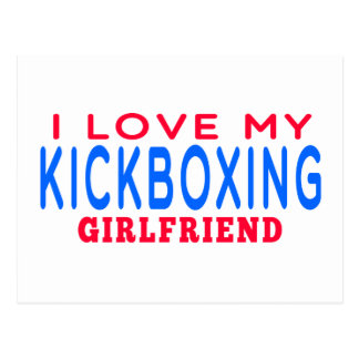 I Love My kickboxing Girlfriend Post Cards