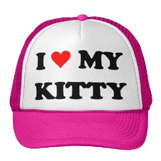 I Love My Kitty Cap