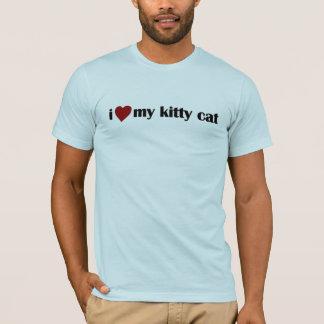 I Love My Kitty Cat T-Shirt