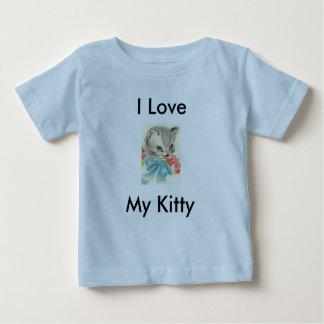 I Love My Kitty T Shirt