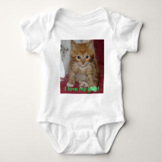I love my kitty! tshirts