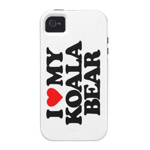 I LOVE MY KOALA BEAR iPhone 4/4S COVER